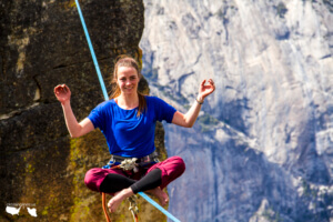 Mastering illogical fear at Taft Point Photo by Bradley Duling