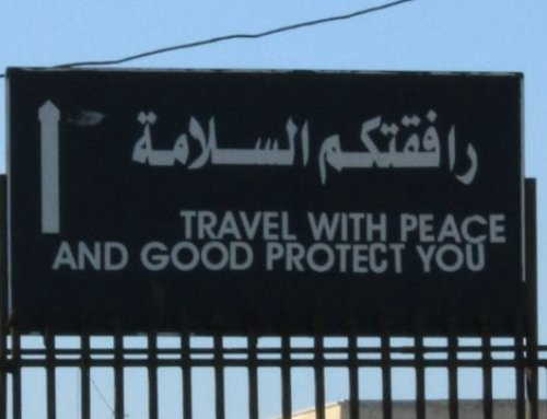 A note to refugees: Travel with peace and good protect you