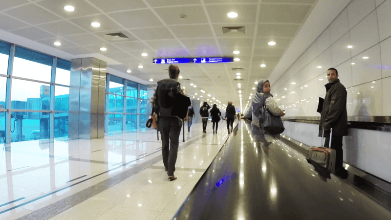 Misunderstanding in the airport in Istanbul